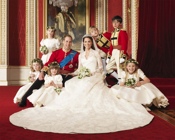 The-Royal-Wedding-of-Prince-William-With-Kate-Middleton-Photos-with-their-bridesmaids-and-pageboys