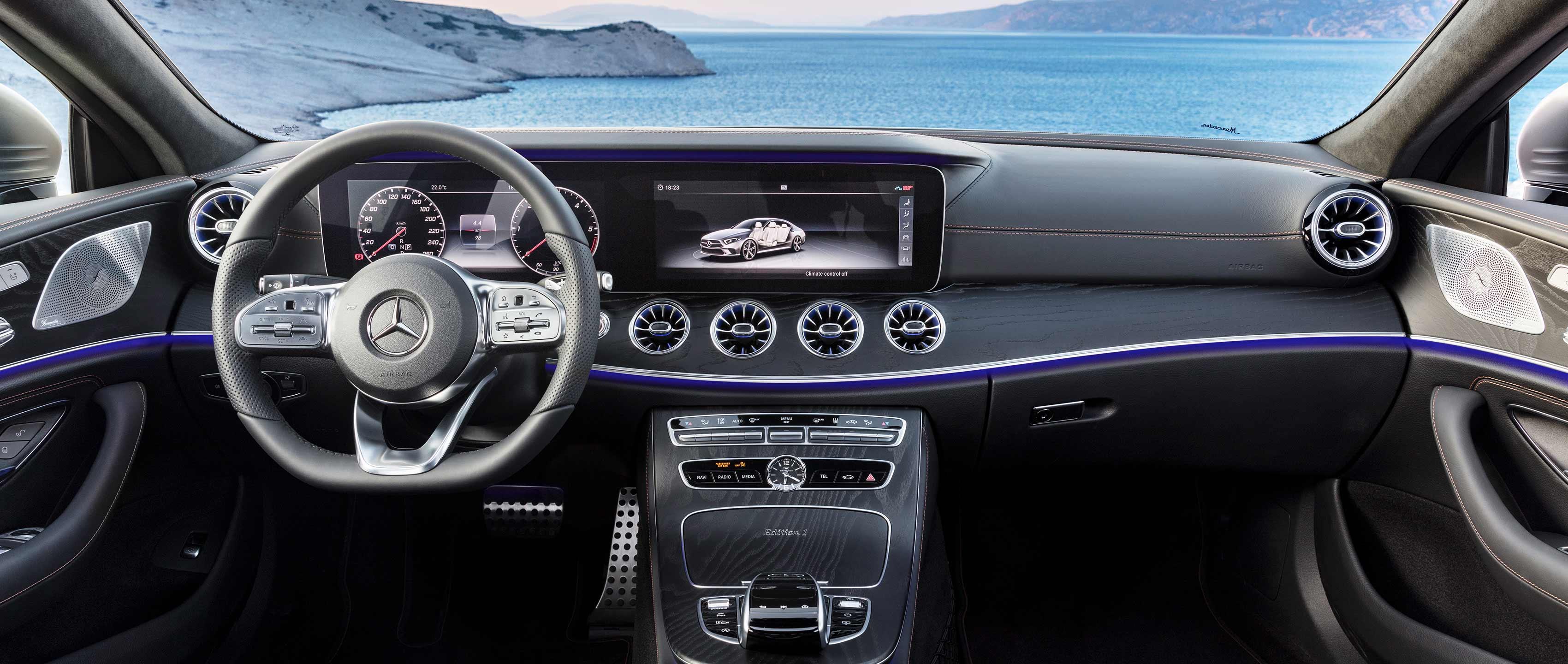 Новый Mercedes-Benz CLS 2018: безупречный стиль