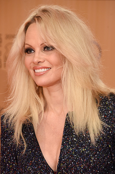 BERLIN, GERMANY - NOVEMBER 12: Pamela Anderson attends the Bambi Awards 2015 at Stage Theater on November 12, 2015 in Berlin, Germany. (Photo by Clemens Bilan/Getty Images for BABOR)