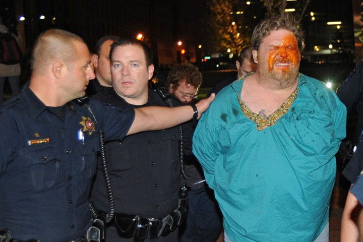 APTOPIX Occupy Tulsa Arrests