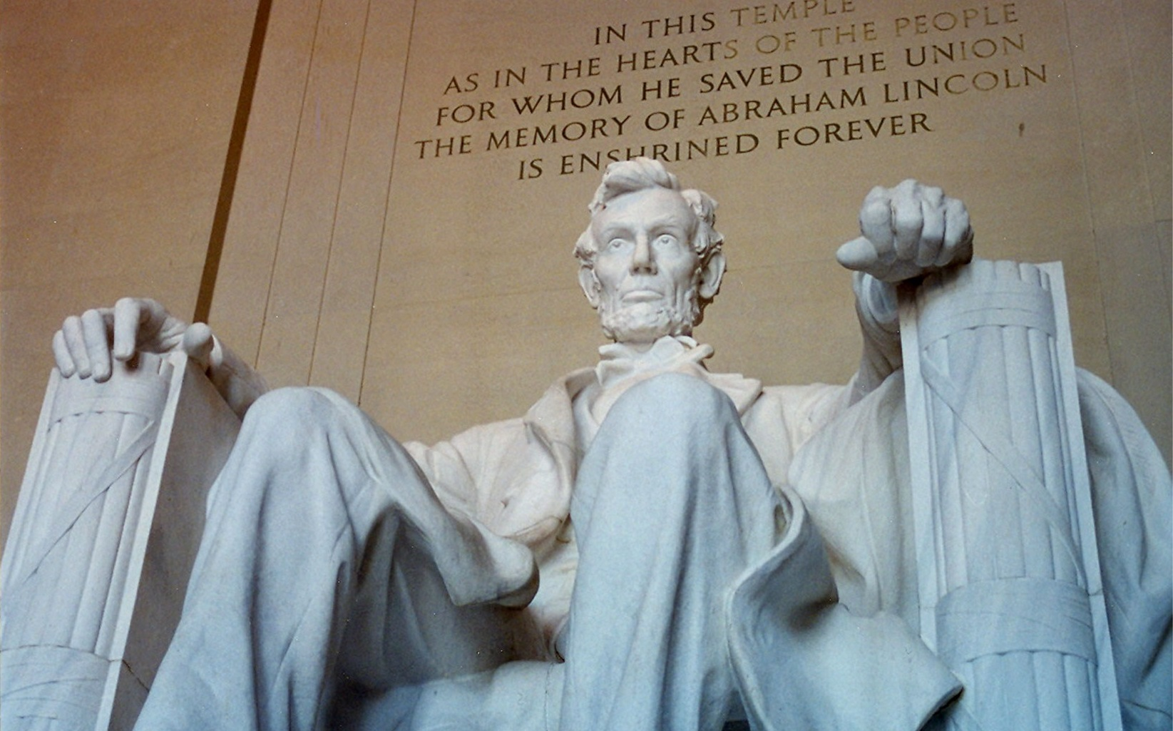 16-й президент США Авраам Линкольн - человек из народа и для народа