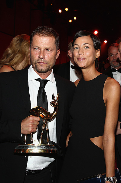 BERLIN, GERMANY - NOVEMBER 12: Til Schweiger and Marlene Shirley are seen during the Bambi Awards 2015 show at Stage Theater on November 12, 2015 in Berlin, Germany. (Photo by Andreas Rentz/Getty Images)