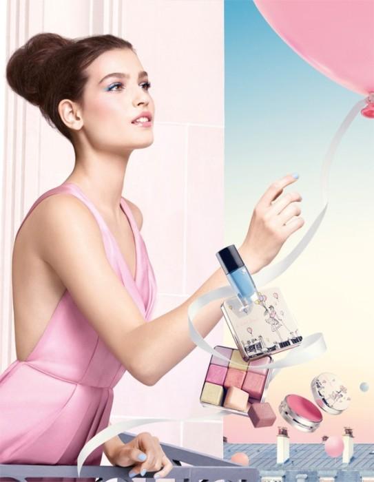 Весенняя линия макияжа Lancome 2016