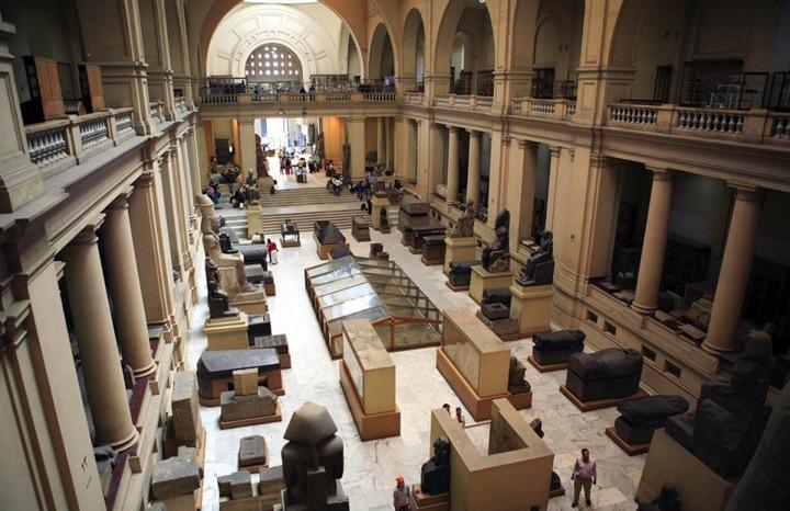 Сохраняя историю  Египетский музей в Каире является собранием наиболее полной коллекции египетских предметов старины в мире.