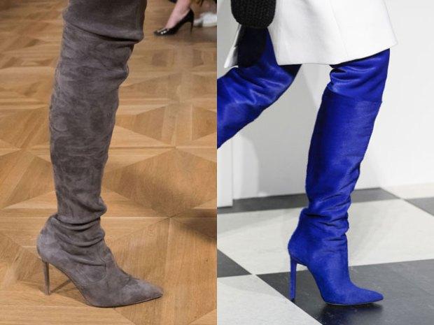 Модная женская обувь осень-зима 2017-2018