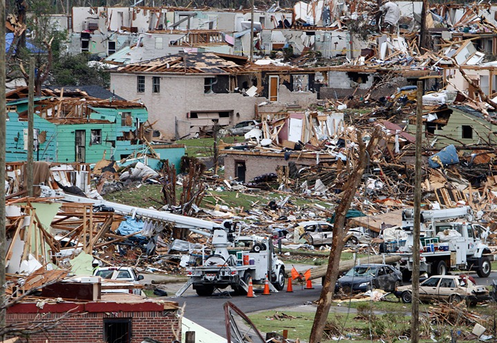 APTOPIX Southern Tornadoes