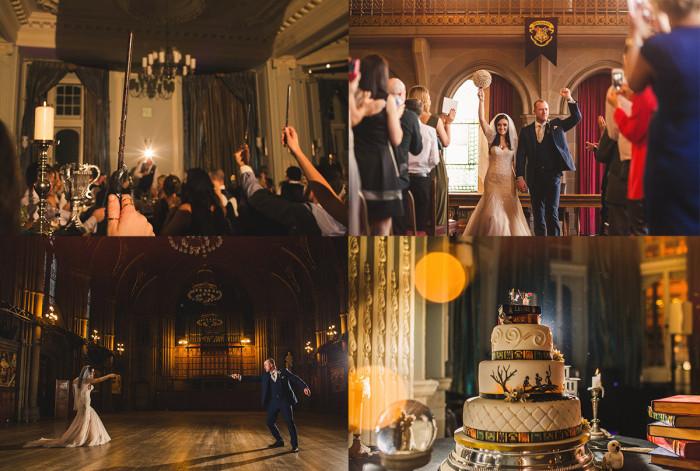 Свадьба в стиле «Гарри Поттера»