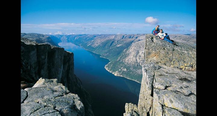 The-fjord-Lysefjorden-as-seen-from-Kjerag