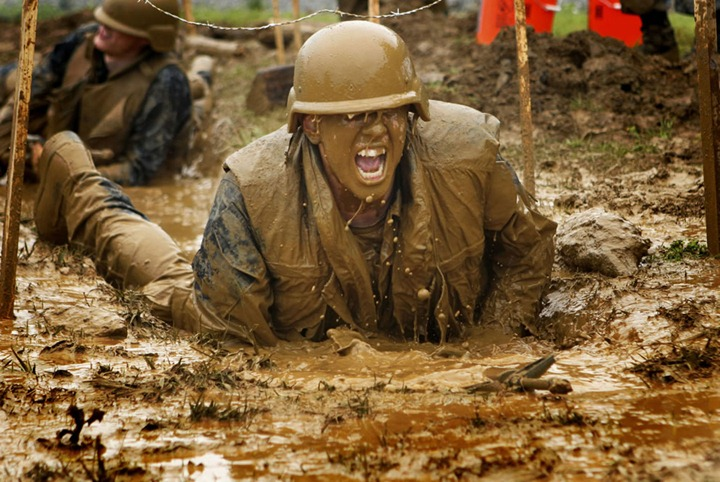 U.S.-Naval-Academy-plebes-navigate-the-low-crawl-obstacle-during-Sea-Trials-the-capstone-