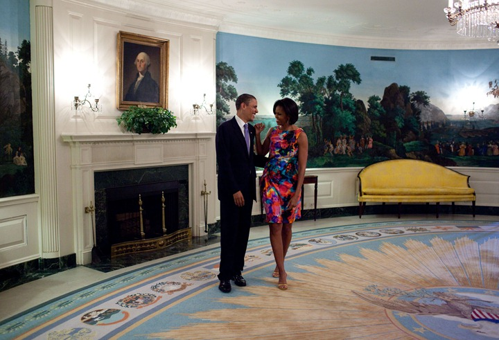 President Barack Obama and First Lady Michelle Obama on Cinco de Mayo