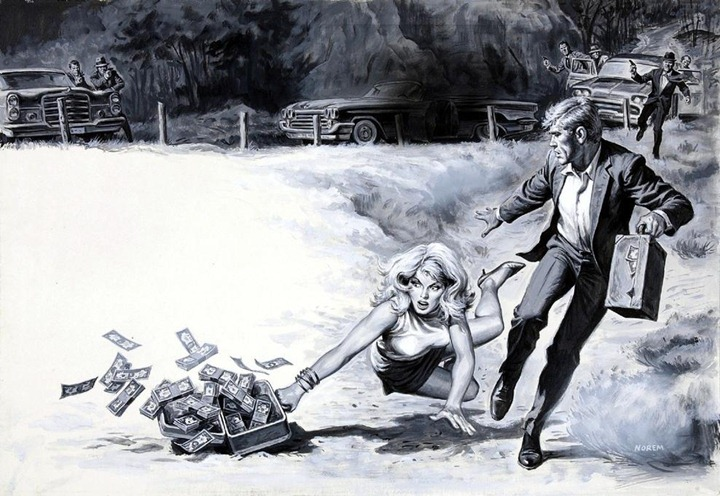 earl norem. death-chase for a million-dollar nymph. 001