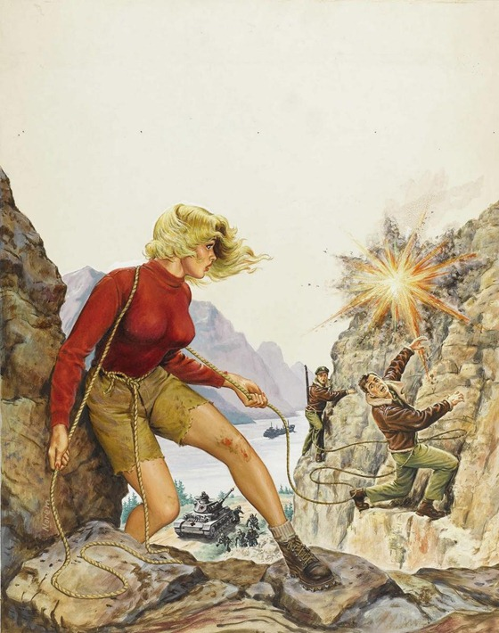 earl norem. the gold blonde key to freedom. 001