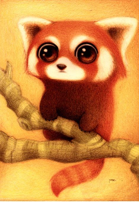 Panda_rojo__by_faboarts