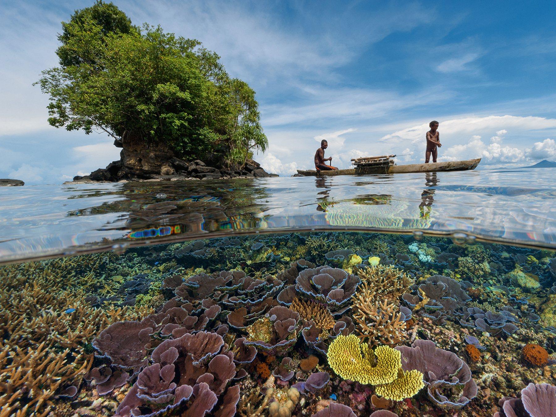 Быт жителей племен Папуа - Новой Гвинеи