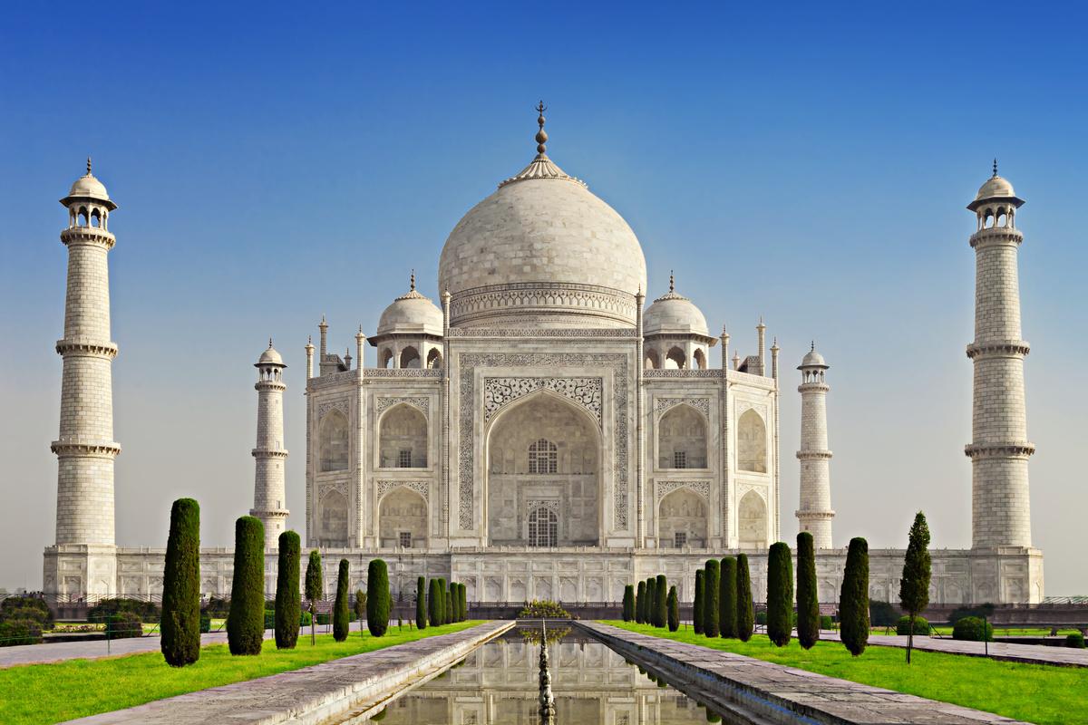 Тадж-Махал – гордость индийской архитектуры