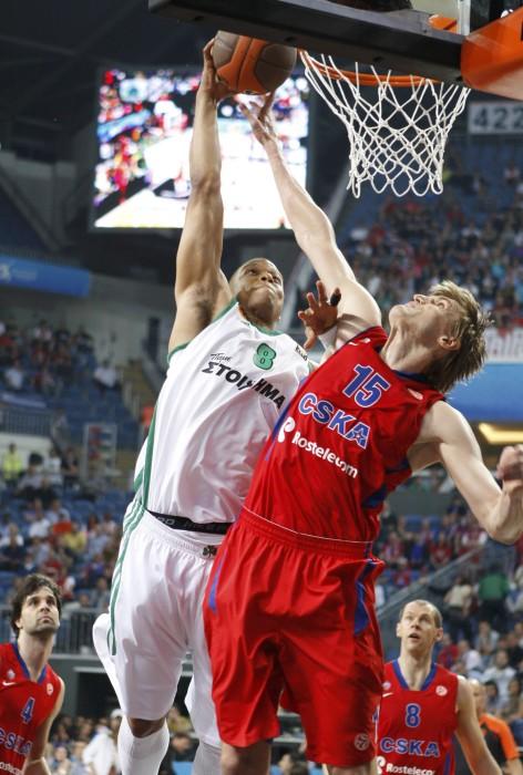 Баскетболисты ЦСКА победили мадридский «Реал»