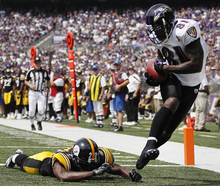 APTOPIX Steelers Ravens Football