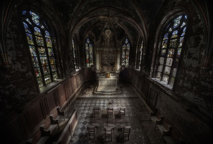 This-large-abandoned-church-had-some-very-nice-chairs-left-inside-and-even-a-coffin-for-a-baby