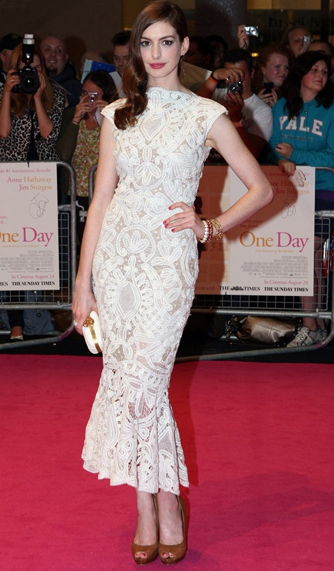 #7774980 European Premiere of 'One Day' held at Westfield shopping centre in London, UK on August 23, 2011. Pictured here is   Restriction applies: USA ONLY - NO NEW YORK NEWSPAPERS   Fame Pictures, Inc - Santa Monica, CA, USA - +1 (310) 395-0500