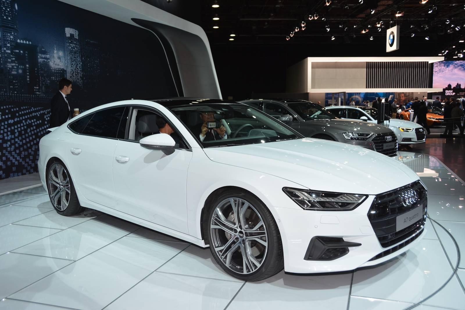 Audi A7 2018 года: факты, особенности модернизации, внешний вид и характеристики