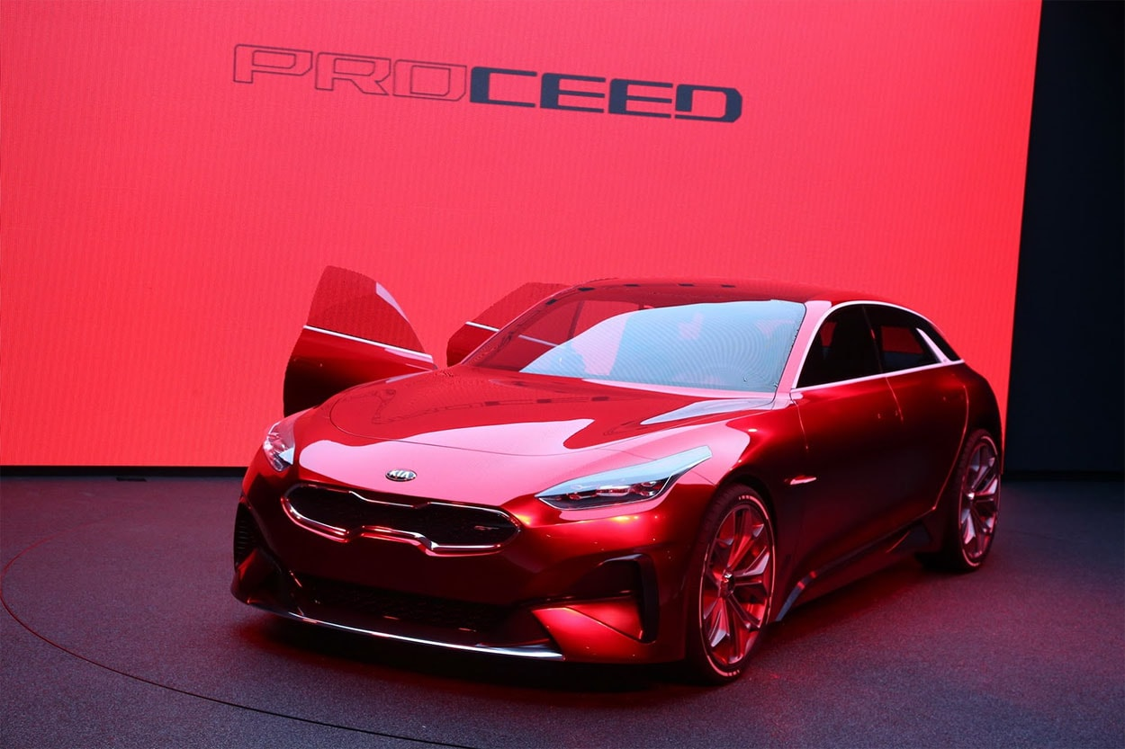 Автомобили 2018: концепт Kia ProСeed