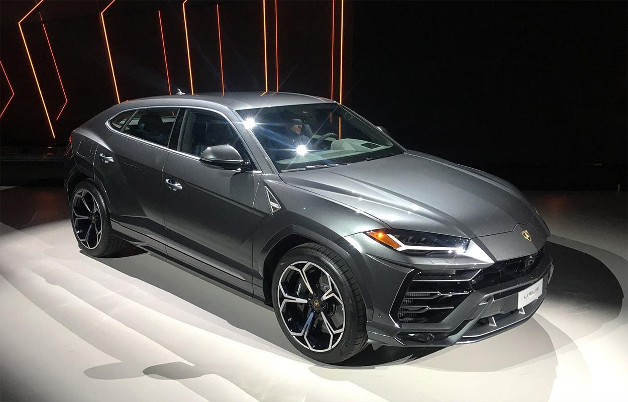 Новый брутальный красавец-кроссовер Lamborghini Urus