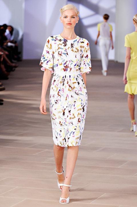 Неделя моды в Нью-Йорке: Preen весна-лето 2012