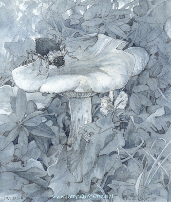 Джеймс Браун – сказочный художник-иллюстратор