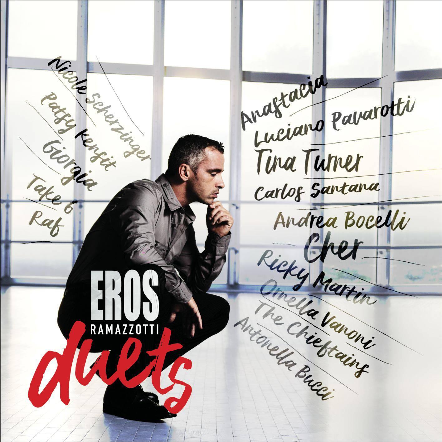 Eros Duets – новый музыкальный альбом Эроса Рамазотти!