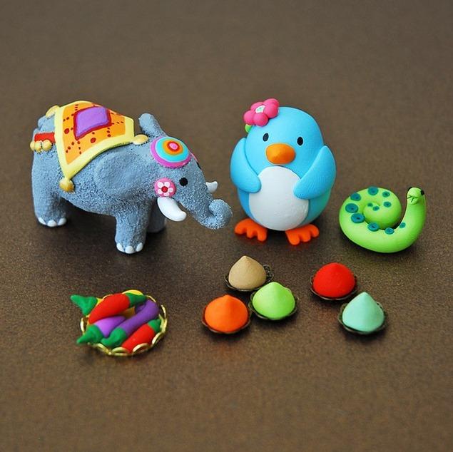 clay-animals