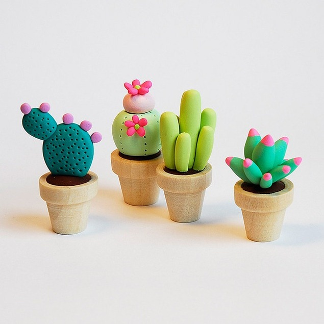 clay-pots-of-clay-cactuses