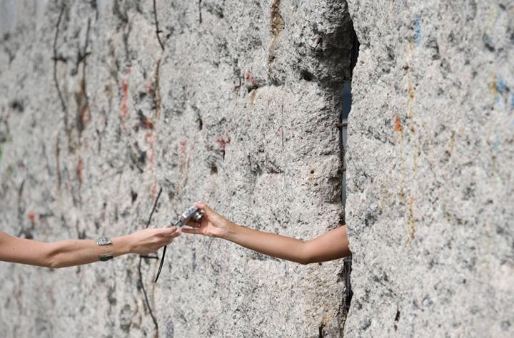 APTOPIX Germany Berlin Wall Anniversary