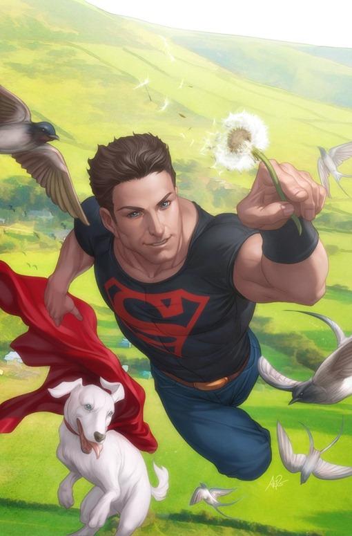 superboy_and_krypto_by_artgerm-d360cii