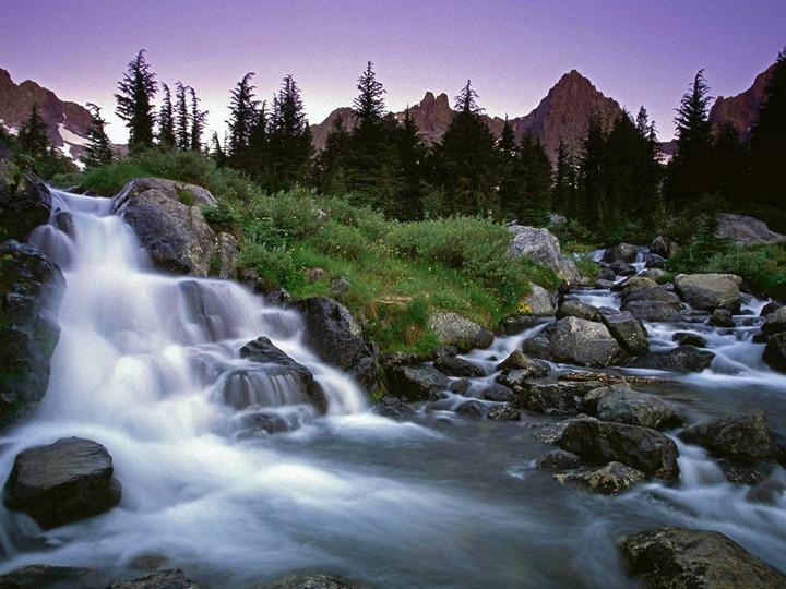 Ediza_Creek_Falls_Ansel_Adams_Wilderness_California