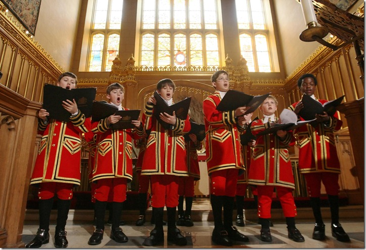 Britain Royal Wedding Choir