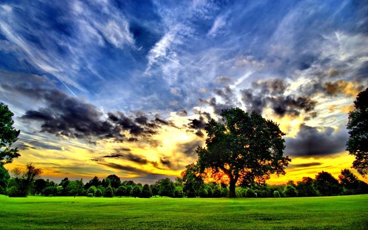 Ideal-sunset