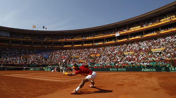 TENNIS-DAVIS/SPAIN