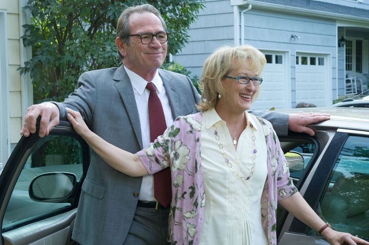 Kay Soames (MERYL STREEP) and Arnold Soames (TOMMY LEE JONES) in Columbia Pictures' HOPE SPRINGS.