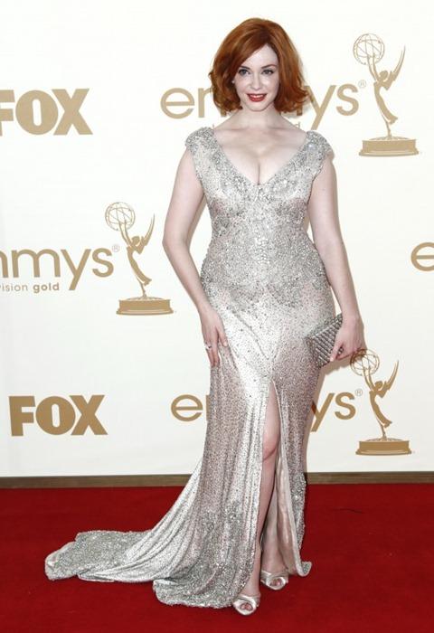 Christina Hendricks - Emmy Awards 2011-06-560x818