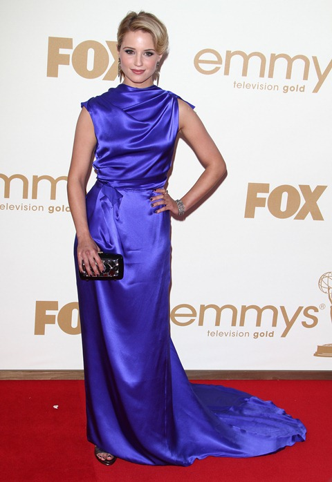 #7899027 The 63rd Primetime Emmy Awards - Arrivals held at The Nokia Theatre L.A. Live in Los Angeles, California on September 18th, 2011. Dianna Agron  Fame Pictures, Inc - Santa Monica, CA, USA - +1 (310) 395-0500