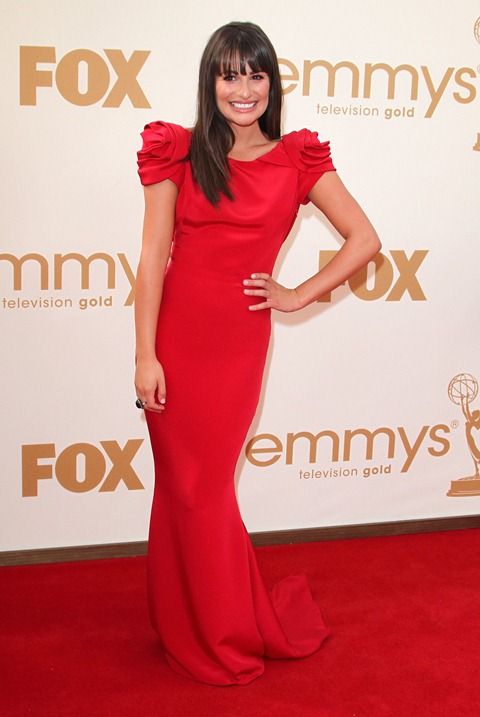 #7899106 The 63rd Primetime Emmy Awards - Arrivals held at The Nokia Theatre L.A. Live in Los Angeles, California on September 18th, 2011. Lea Michele  Fame Pictures, Inc - Santa Monica, CA, USA - +1 (310) 395-0500