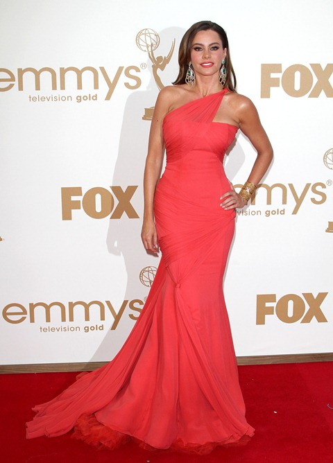 #7899205 The 63rd Primetime Emmy Awards - Arrivals held at The Nokia Theatre L.A. Live in Los Angeles, California on September 18th, 2011. Sofia Vergara  Fame Pictures, Inc - Santa Monica, CA, USA - +1 (310) 395-0500