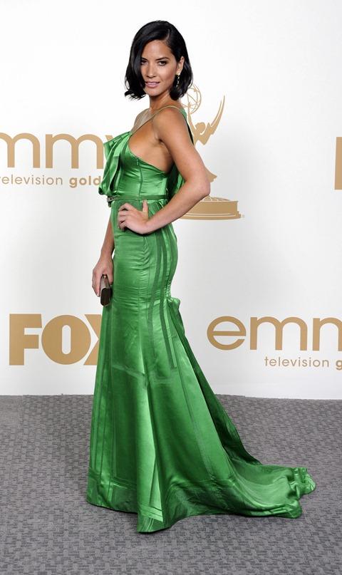 Olivia Munn - 2011 Emmy Awards-02