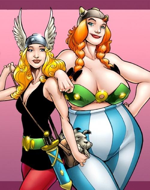 female-superhero-asterix-obelix