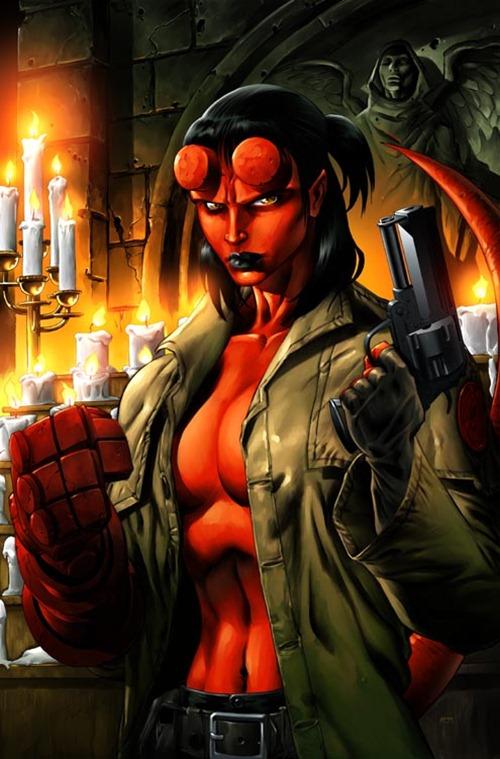 female-superhero-hellboy