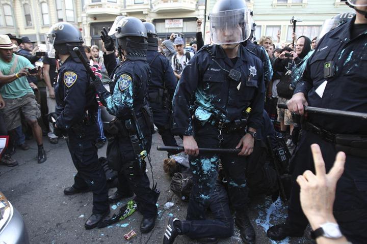 USA WALLSTREET/PROTESTS-OAKLAND