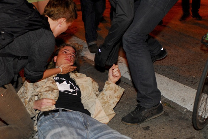 USA-WALLSTREET/PROTESTS-OAKLAND
