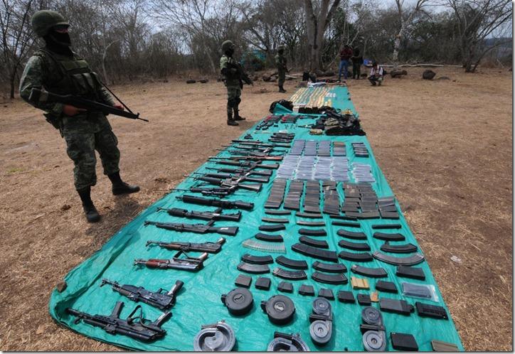 MEXICO-DRUG-VIOLENCE-CAMP-TRAINING