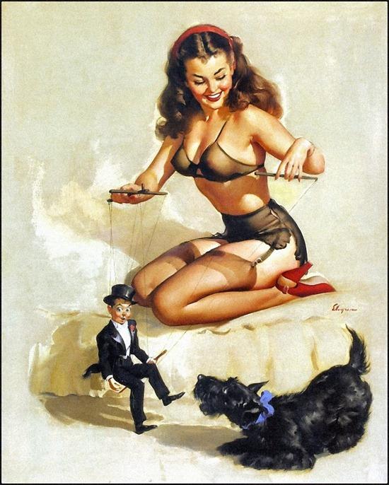 gil_elvgren_easy_to_handle_1948