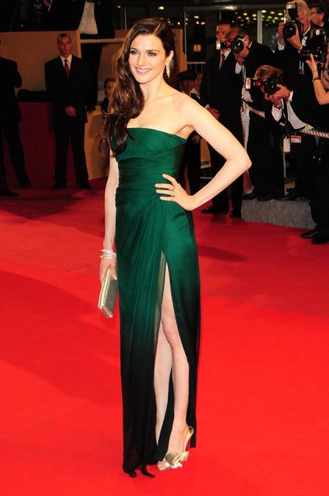 rachel_weisz_long_green_dress